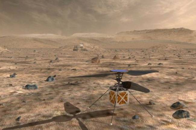 NASA will send helicopter to Mars