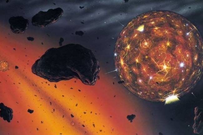 The world's falling diamond meteorites 'belong to a destroyed planet